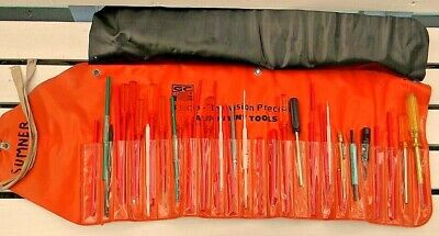 40 Pc Gc Electronics Cb Ham Radio Tv Alignment Tool Kit Roll-up Carry Pouch