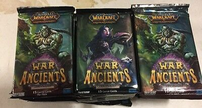 World Of Warcraft War Of The Ancients 36-count Booster Pack Box LOT For WoW TCG