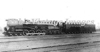 Pennsylvania Railroad T-2 6-8-6 Steam Turbine Locomotive 6200 PRR train Photo