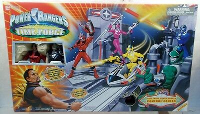 Power Control-center (Power Rangers Time Force Control Center With Ransik & Quantum Ranger (MISB))