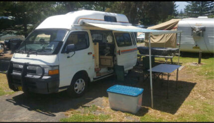 Wanted: 1991 Toyota Hiace Hightop Campervan