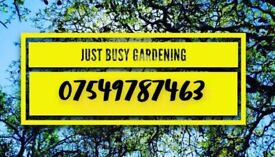 Just Busy Landscaping - driveways gardens decking