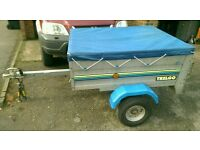 "Trelgo 4ft x 3ft 6"" Trailer + cover"