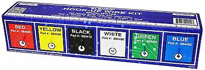 Elenco Wk-106 Solid Hook-up Wire Kit 22 Awg In Box 6 Colors 25 Feet Each-150 Ft