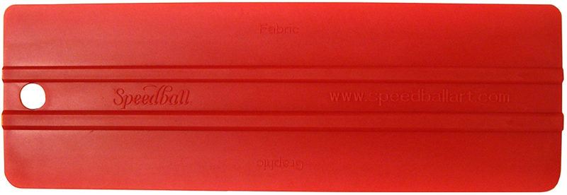 Speedball Art Products SB4479 Red Baron Squeegee Dual Edged,