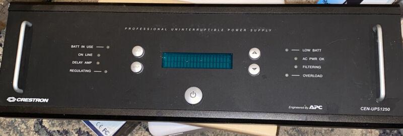 CRESTRON Professional Uninterruptible Power Supply Faceplate CEN-UPS1250
