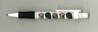 Tibetan Masstiff Dog Design Retractable Acrylic Ball Pen by paws2print