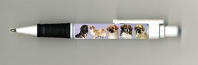 Tibetan Spaniel Dog Design Retractable Acrylic Ball Pen by paws2print