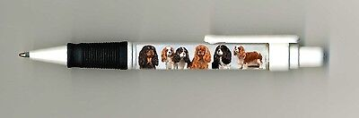 Cavalier Kind Charles Spaniel Dog Design Retractable Acrylic Ball Pen paws2print