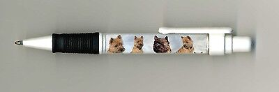 Cairn Terrier Dog Design Retractable Acrylic Ball Pen by paws2print