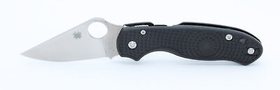 Spyderco Para 3 Lightweight Knife Black FRN Handle Plain CTS BD1N Edge C223PBK