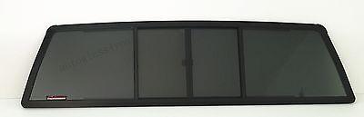 2dr Standard Cab (For 84-95 Toyota Pickup 2-DR Standard Cab Rear Back Window Glass 4 Panel Slider )