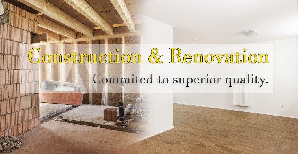 Refurbishment Loft Conversion Extension Kitchen Bathroom