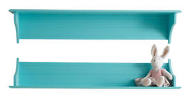 GLTC Any Which Way Book Shelf Long Turquoise £18 rrp £36