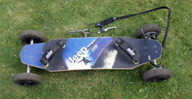 Jeep Renegade Mountainboard - Excellent condition - with Brake
