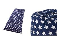 navy blue star 'bed in a bag' from the great little trading company