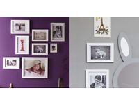 GLTC Nursery Photo Frames - set of 8
