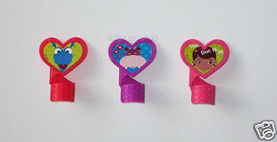 12 Doc McStuffins Cup Cake Twist Ring Decor Topper Party Goody Bag Favor Supply