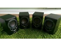 Mission M30i speakers x4