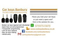 Car keys cutting and programming