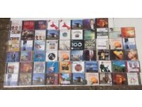 CD's job lot 58 titles , country , classical , Irish