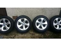 16 inch 5x120 genuine BMW alloys wheels TRAFIC / VIVARO