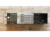 EURORACK MODULES + SKIFF FOR SALE