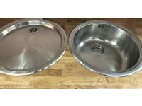 Round Bowl Pack & Round Drainer Stainless Steel With Bowl Basket &Chopping Board