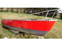 FREE TO COLLECT! Boat Hull 25ft. FREE!!