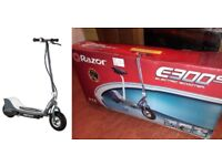 Razor E300 Electric Scooter With Seat - Grey (BRAND NEW UNOPENED)