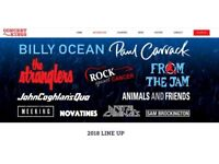Rock Against Cancer 2 tickets - Stranglers, Bruce Foxton, Billie Ocean, Paul Carrack and more!
