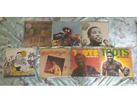 Vinyl record Collection Reggae and Ska