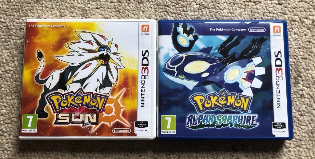 Nintendo 3ds Pokemon Games : Pokemon games in handforth cheshire gumtree