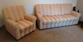 Set - 3 seater, 2 Seater & Arm Chair Made in Germany