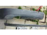 Volkswagen Golf GTI bumper and splitter