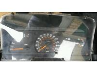 Escort RS Turbo S2/XR3i clocks