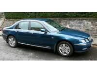 Excellent Rover 75 full service, MOT, 3 owners from new, 6 changer CD £600 ono