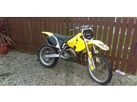 Suzuki rm125 2001 model