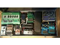 Guitar effects board