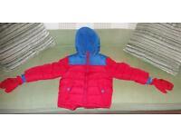 Boys winter coat 1 1/2 - 2 years brand new (George brand)