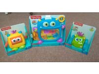 Brand New boxed Fisher price baby toy bundle