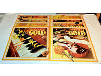Boxed set of 8 LP records – 'Instruments in Gold' in excellent condition