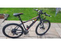 Carrera vengance electric mountain bike