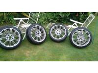 BMW Wheels with good tyres