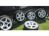 "17"" alloy wheels x5 in great condition"