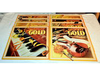 Boxed set of 8 LP records – Instruments in Gold in excellent condition