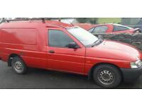 Ford escort 55D Van 1999