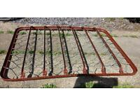 Vintage Metal Double Sized Spring Bed Base