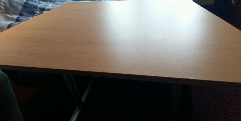 Wooden folding desks