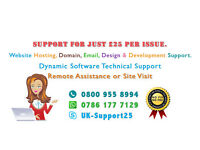 Computer repair - Get Technical Support for £25 only